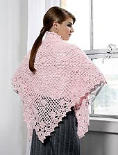 crocheted shawl 3 of 3